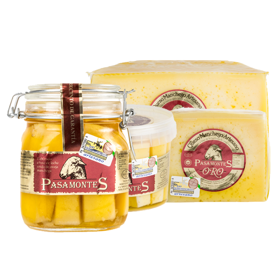 quesos manchegos aceite